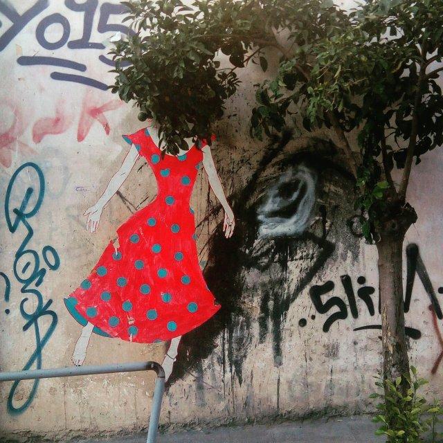 Φωτογραφία δρόμου στόν Κεραμεικό. Athens street art.