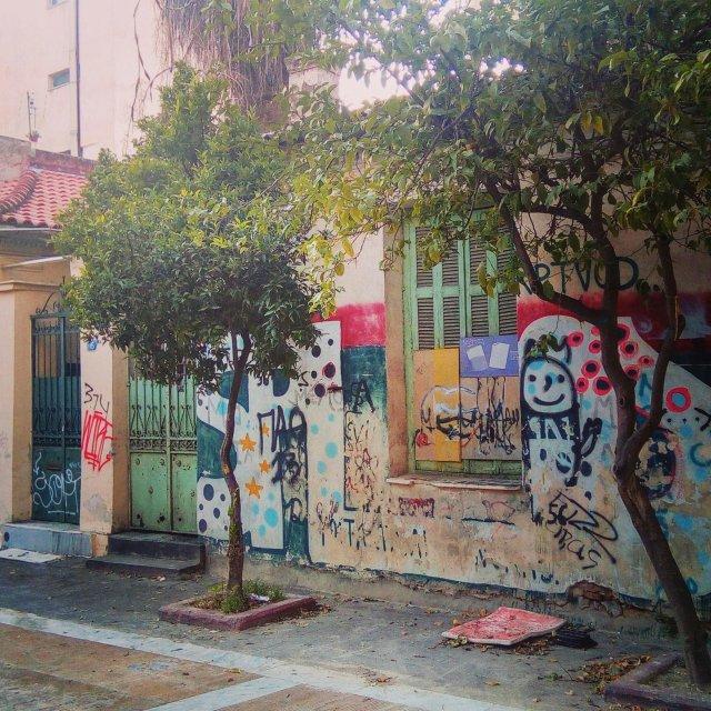 Παλιές γειτονιές στο Μεταξουργείο. Old neighborhoods of Athens.