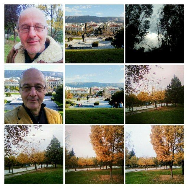 Τα πάρκα τής Αθήνας. The parks of Athens.