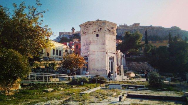 Η Αρχαία Αγορά τής Αθήνας. The Ancient Agora of Athens.