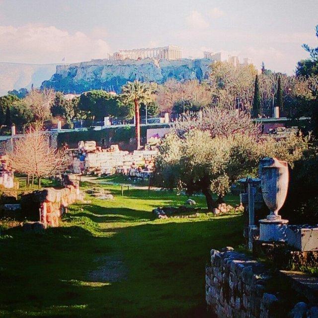 Ο Αρχαιολογικός χώρος Κεραμεικού - Keramikos Archeological site