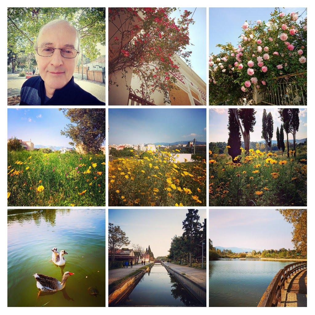 Ανοιξιατικη φωτογραφικη εξιστορηση σε παρκα, αλση, λοφους και γειτονιες Αθηνας και προαστιων