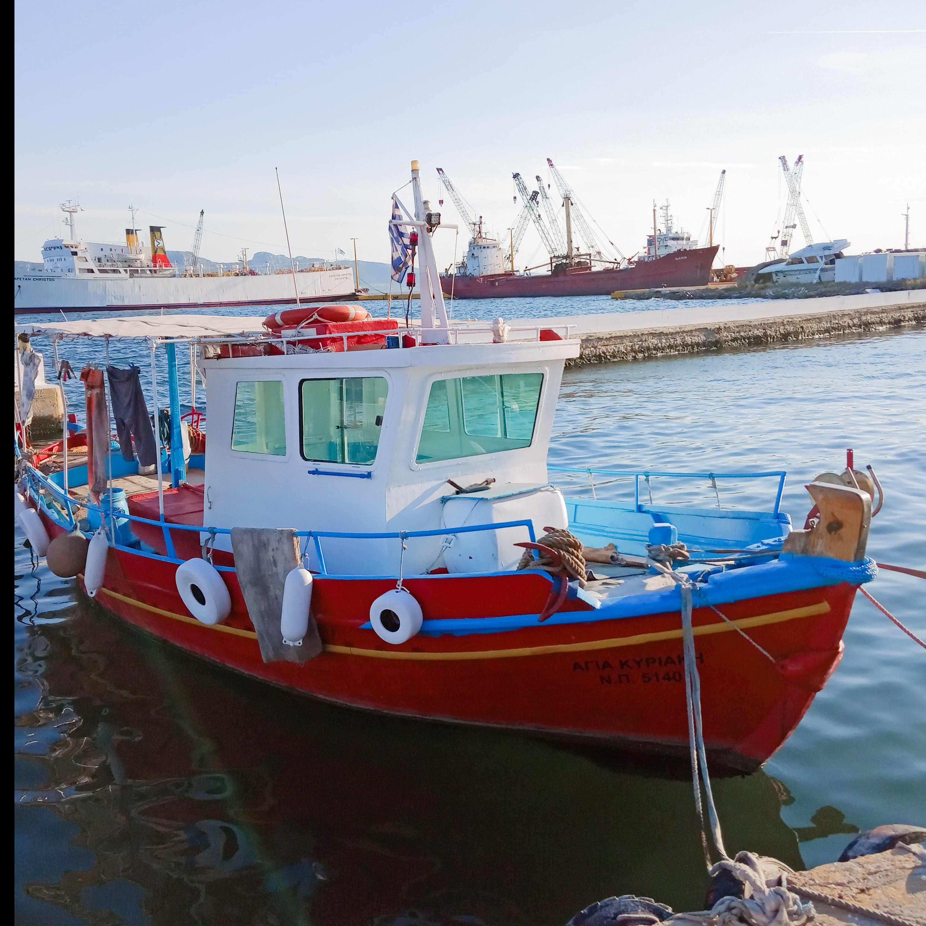 Στό λιμάνι - In the port