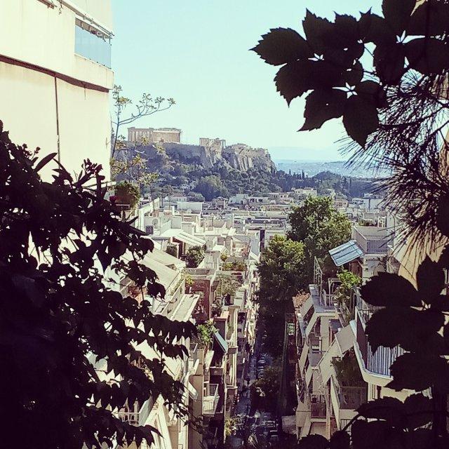 Θέα από ψηλά - View from the top