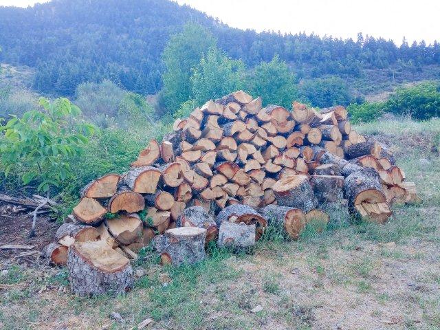 Ξύλα για τον χειμώνα - Wood for the winter