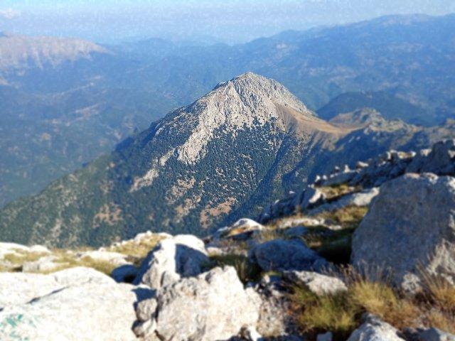 Θέα από την κορυφή της Γκιώνας - View from the top of the mountain