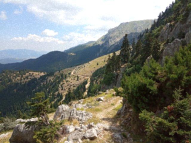 Ορεινό τοπίο - Mountain landscape