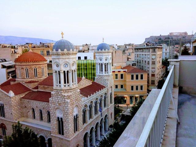 Θέα από ψηλά στο Μοναστηράκι - The Athens rooftops in Monastiraki