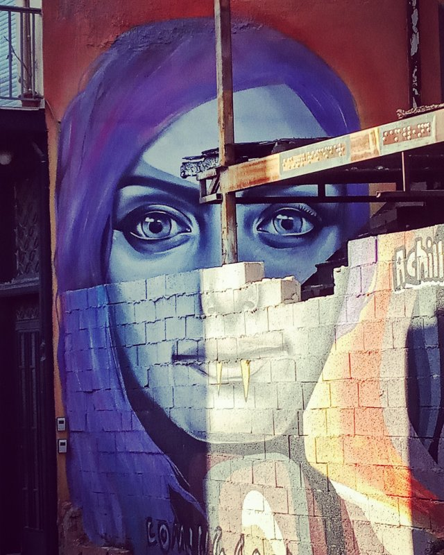 Τοιχογραφία στο Θησείο - Athens Wall Design