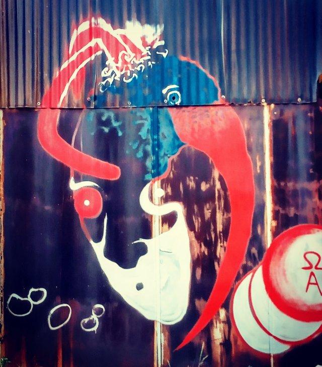 Τοιχογραφία στόν Ταύρο Αττικής - Athens Wall Design
