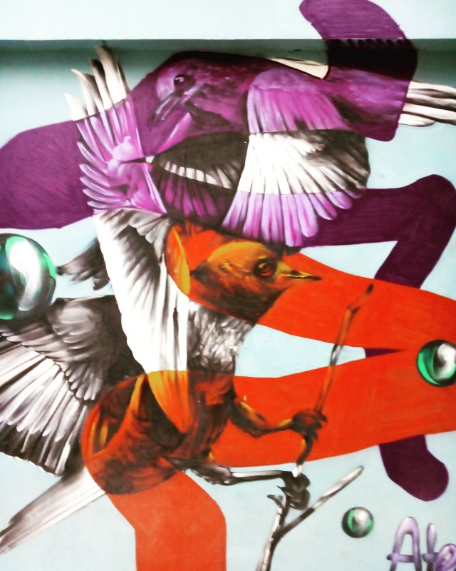 Τοιχογραφία στου Ψυρρή - Athens Wall Design