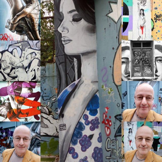 Τοιχογραφίες στου Ψυρρή - Athens Wall Designs