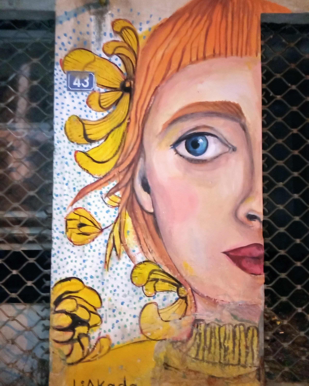 Τοιχογραφία στον Βοτανικό - Athens Wall Design