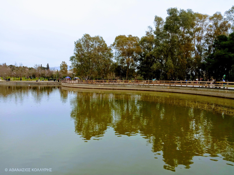 Η λίμνη του Πάρκου Τρίτση