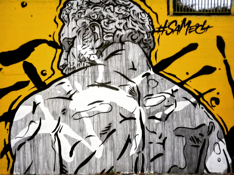 Τοιχογραφία στο Γκάζι - Athens Wall Design